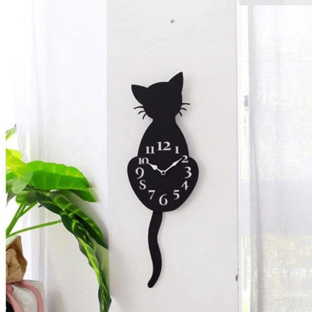 Kat - die Katzen Wanduhr