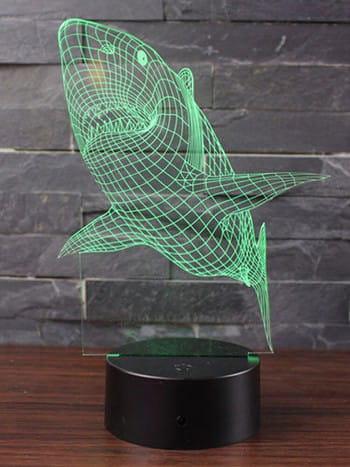 Hai Lampe - dekorative 3D Hai Lampe