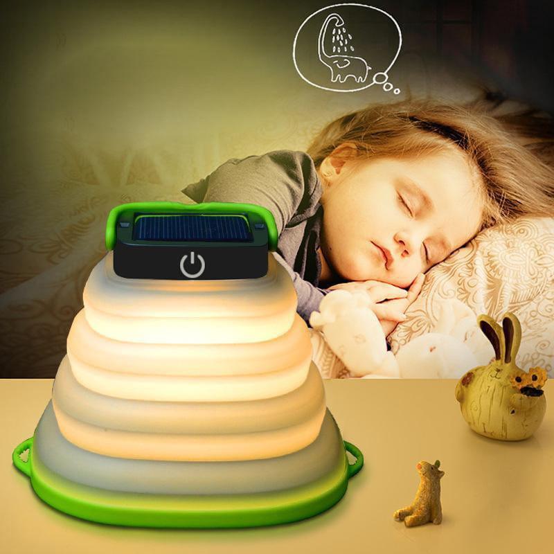 Camplight - die super Camping-Lampe mit Solar