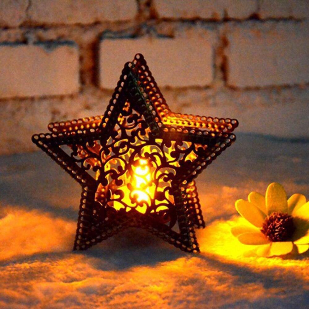 Sterntaler - der magische Stern-Kerzenhalter