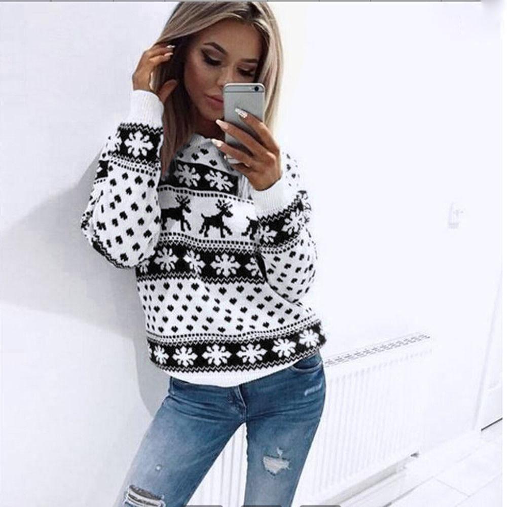 CHRISTMAS VIBES - Der Ugly-Christmas-Sweater für Damen