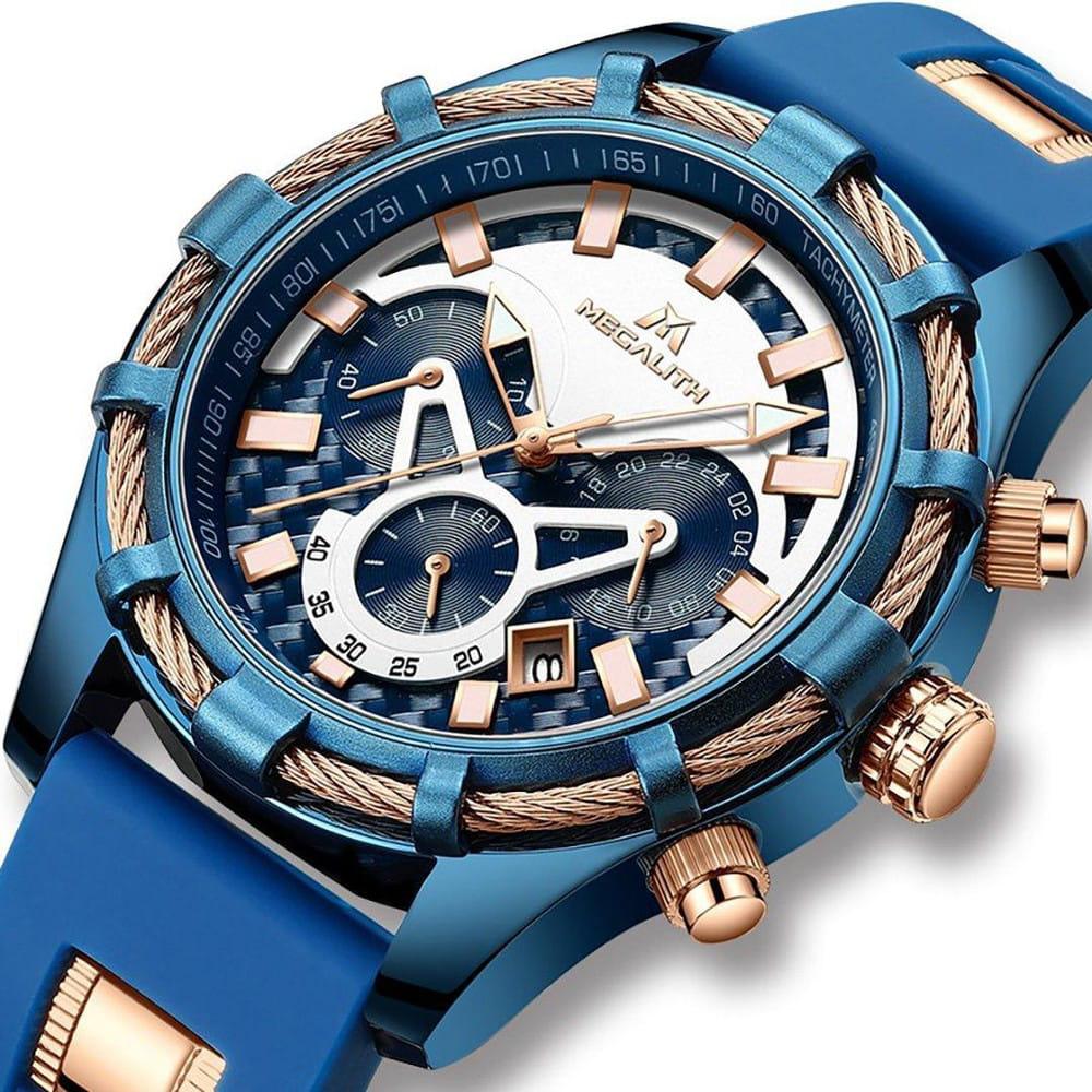 NEPTUN - Chronograph Quartz Mechanik Uhr für Herren
