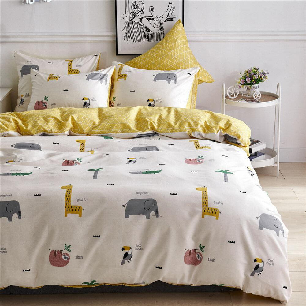 Amina - süße Afrika Tierwelt Doppel Bettdecke