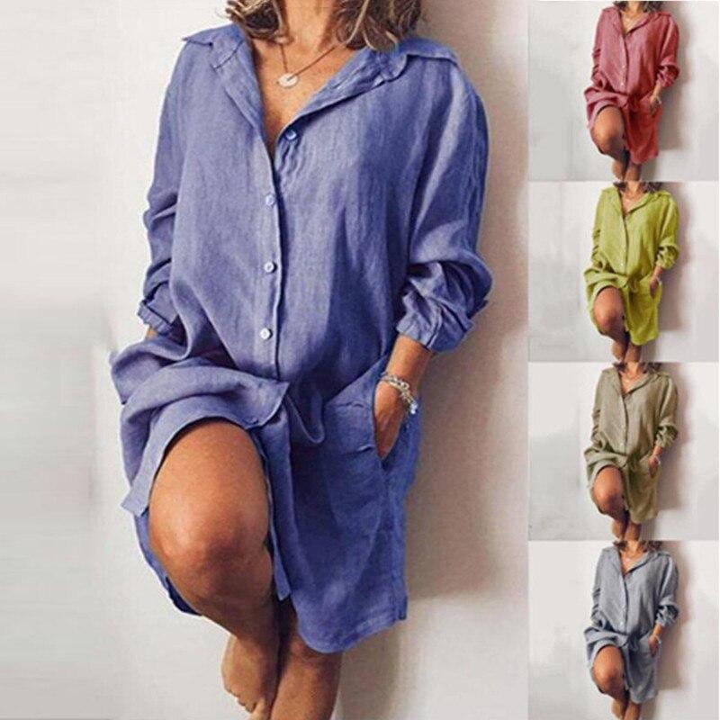 ANNABELLE - das stylische Hemdkleid
