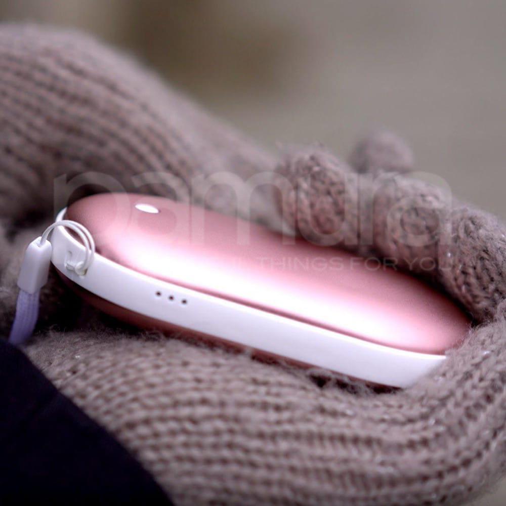 Hoty - Die erste Power Bank die deine Hände im Winter wärmt