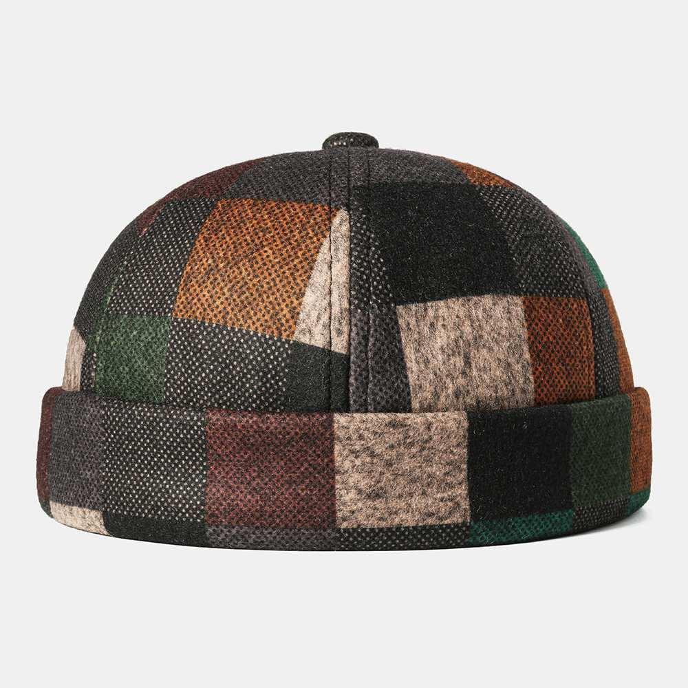 Hobie - Krempenlose Beanie Mütze aus Baumwolle