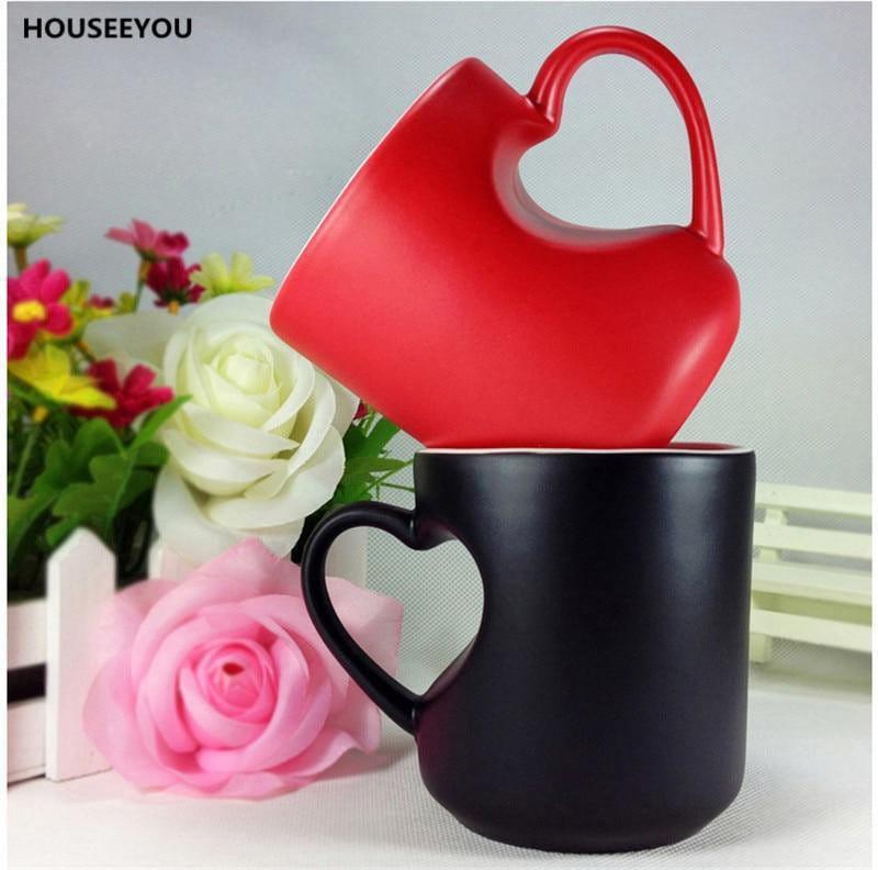 Romanticup - Romantische Herz Paar Tassen