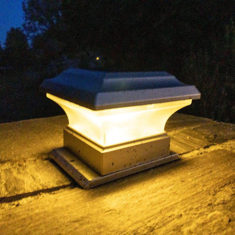 OLYMPIA Solar Lampe - elegantes Garten Licht