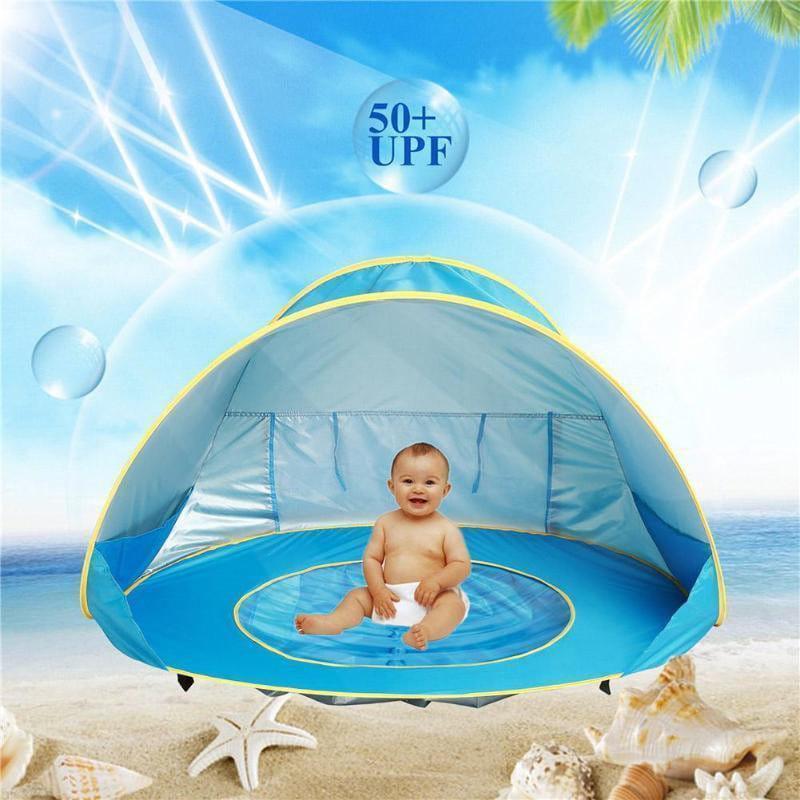 BABYFUN - das Wasserspaß-Zelt für dein Baby
