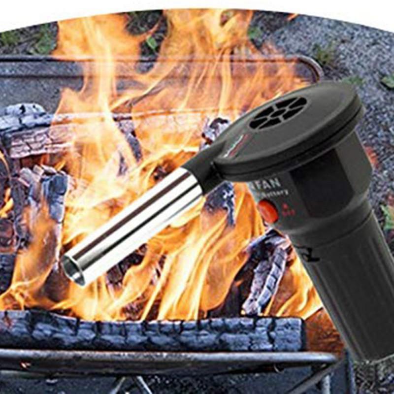 FAKEL - Der elektrische BBQ Grill-Föhn